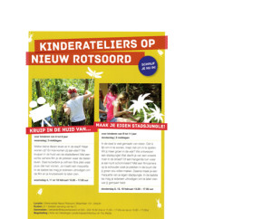 kinderateliers flyer